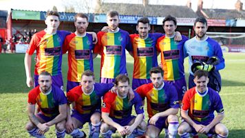 English club takes LGBT support a step further