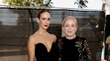 43-year-old Sarah Paulson walks red carpet with 75-year-old girlfriend Holland Taylor