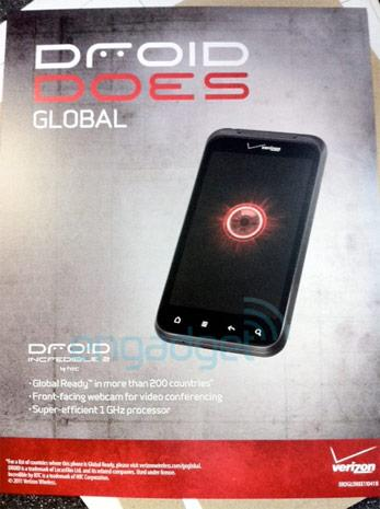 Leaked sign confirms Droid Incredible 2 will be a world phone, launch is likely imminent