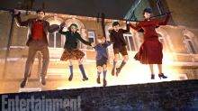 Check out the first look at Mary Poppins Returns