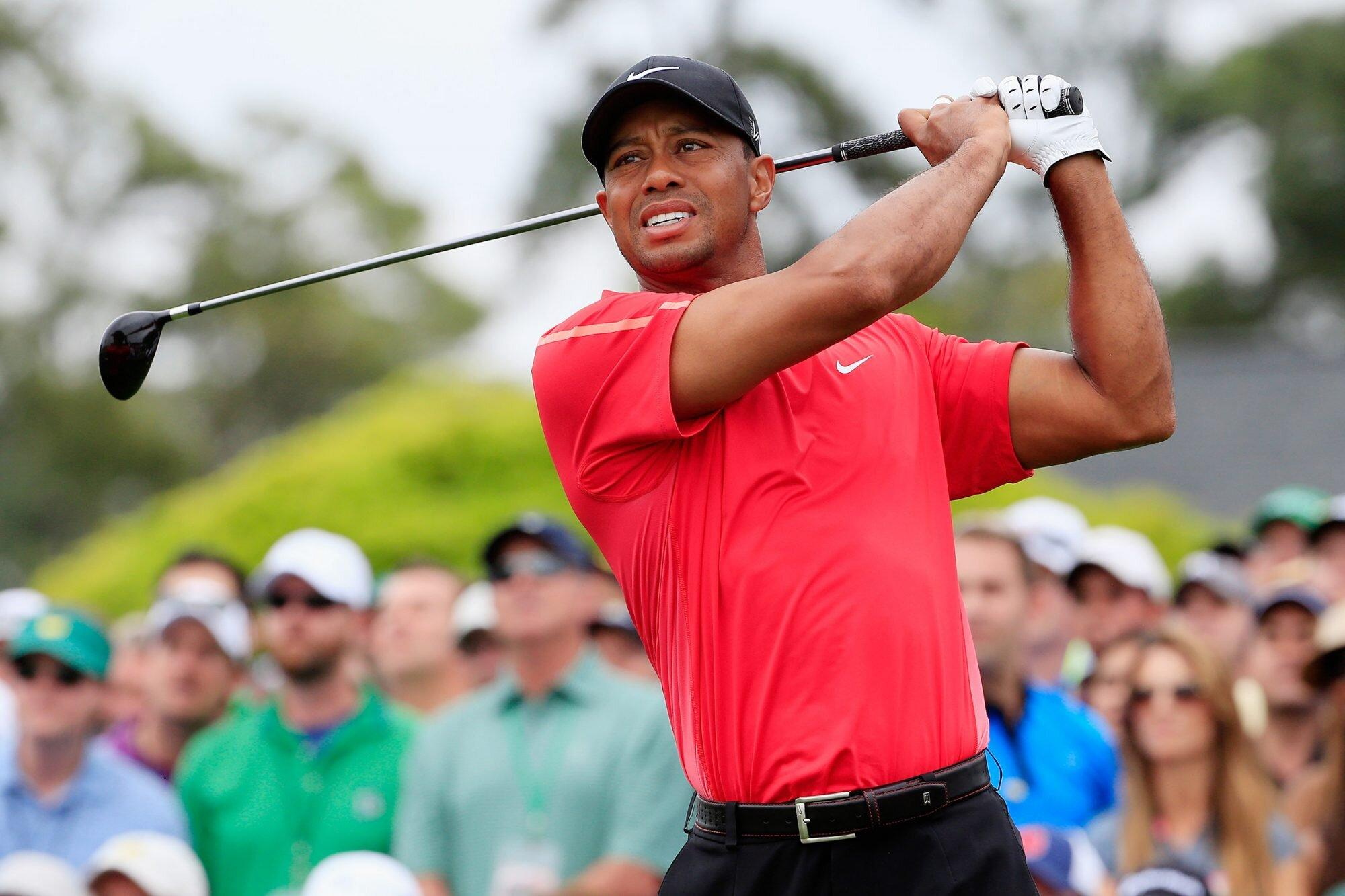 Rory Mcilroy Justin Thomas And More To Honor Tiger Woods By Wearing His Signature Red At Golf Tournament