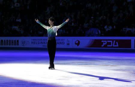 Figure Skating - ISU World Championships 2017 - Men's Victory Ceremony
