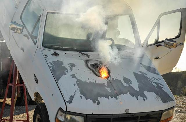 Lockheed Martin's laser can stop a truck from over a mile away