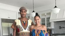 Tia Mowry's fans call her an 'African Queen' for wearing Ankara-print dress