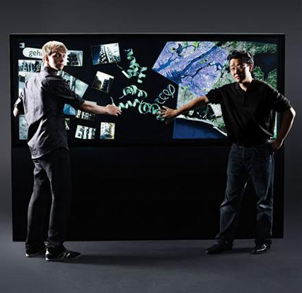 Neiman Marcus to sell Perceptive Pixel's Interactive Media Wall: yours for $100k
