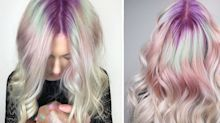 """""""Gem roots"""" is spring's newest hair trend"""