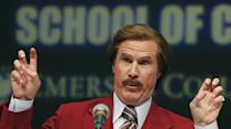 Mass. School Renamed for Ron Burgundy for a Day