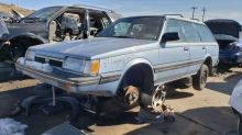 Junkyard Gem: 1987 Subaru GL-10 4WD station wagon