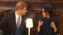Expert suggests Harry and Meghan had a tiff at royal wedding
