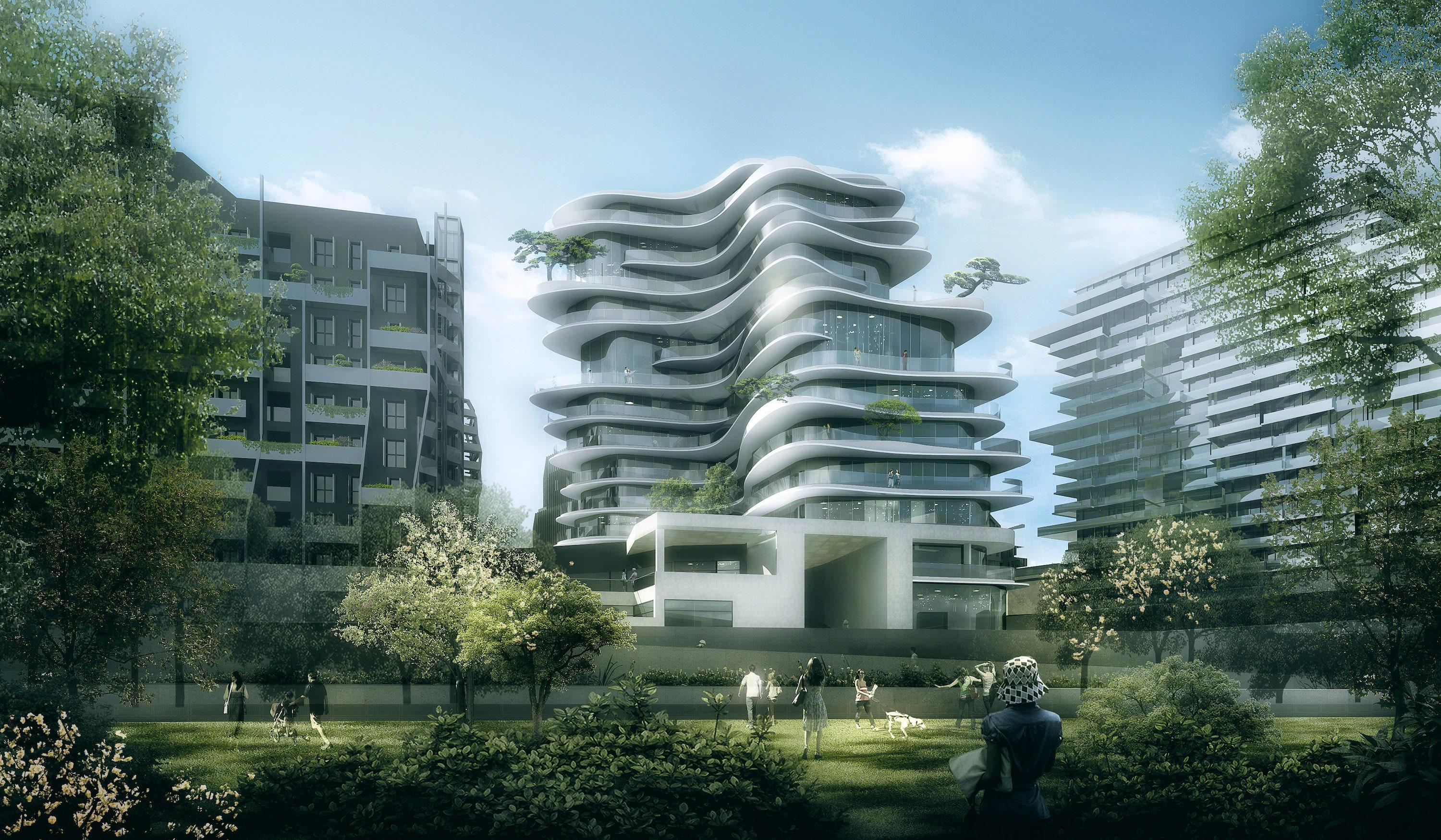 Paris is a city steeped in classical architecture. Yet that won't be the case when MAD Architects' UNIC building is completed in 2020. Led by the Chinese-born virtuoso Ma Yansong, the residential structure will be located within the verdant setting of Martin Luther King Park. Playing off this theme, Yansong's undulating design is meant to blur the line between building and nature. The 13-story building is tall enough so that at the top floors, homeowners will have clear views of the Eiffel Tower (located to the southwest of the new residential building). Attached to MAD Architects' sleek structure will be an adjacent public housing project, as well as direct access to major metro and bus stops. While this is the Chinese firm's first residential project in Europe, we have a strong feeling it won't be the last.