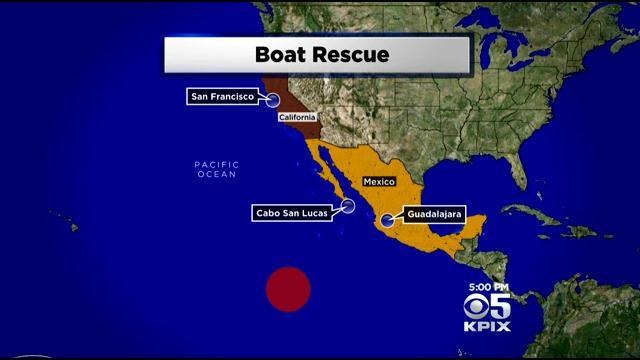 Moffett Field Crews On Rescue Mission For Sick Baby On Ocean Voyage