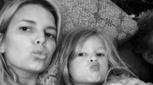 Jessica Simpson Gets Modeling Tips From Her 3-Year-Old Daughter