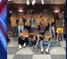 Picture Shows Indiana Students Giving Nazi Salute on School Property