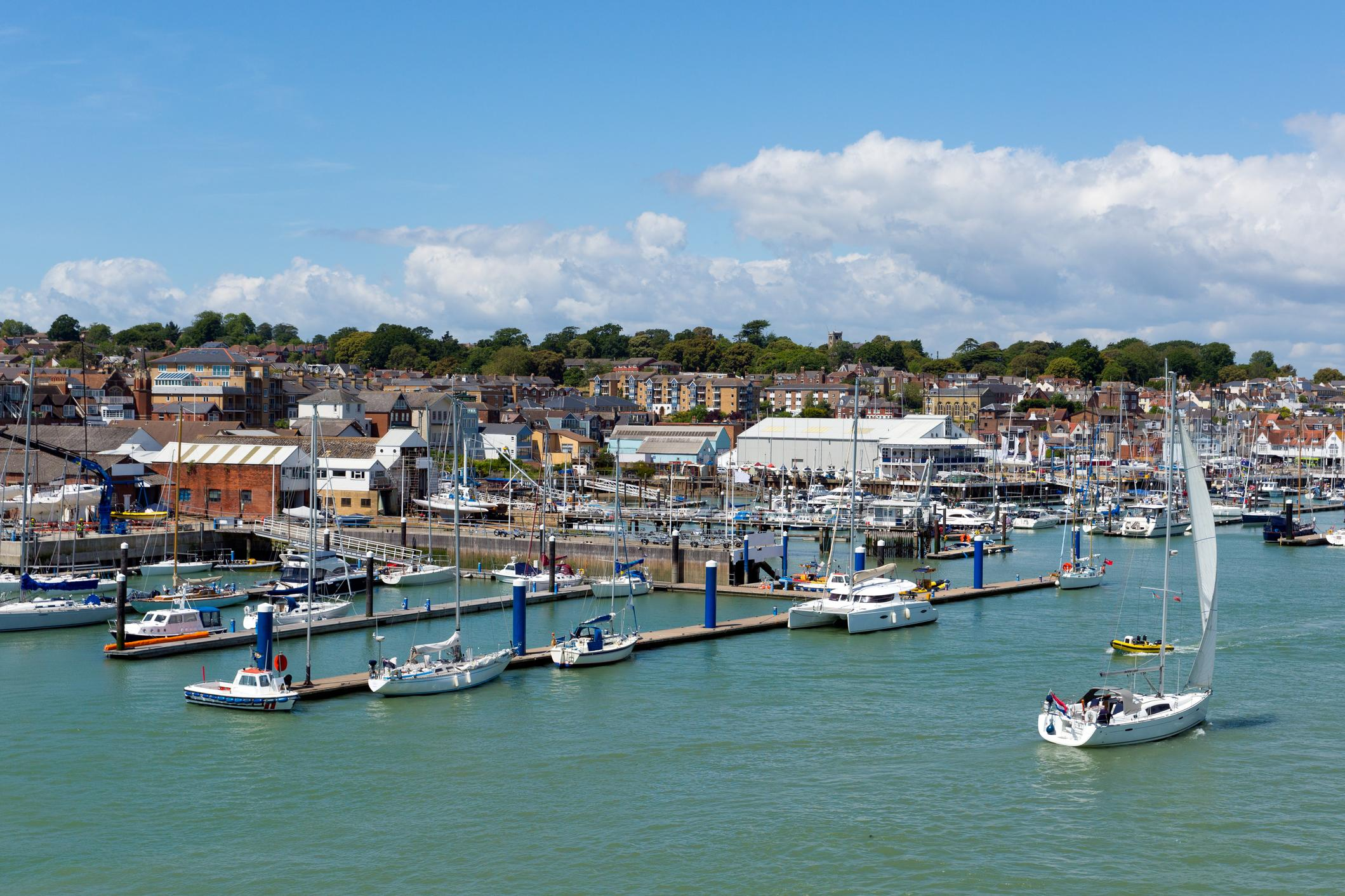 """The <a href=""""http://travel.aol.co.uk/guides/isle+of+wight/"""" target=""""_blank"""">Isle of Wight</a> can be found just off England's south coast, only two hours from London. Its mild climate, white cliffs and tranquil beaches make it a popular holiday destination all year round whether you're looking for a quick weekend away or a long break."""