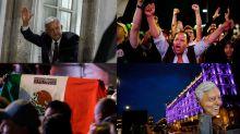 FOTOS | Así celebran el triunfo de AMLO