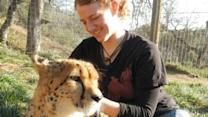 Lion attack: Intern died from broken neck, coroner reports