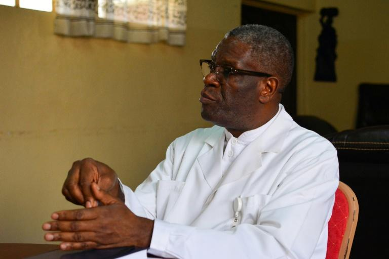 DRCongo vows to protect Nobel laureate Mukwege after death threats