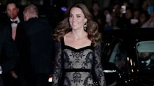 Duchess of Cambridge stuns in lace McQueen gown at Royal Variety Performance