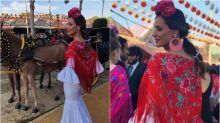Los looks de las 'influencers' en la Feria de Abril de Sevilla