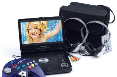 Audiovox must be kidding with its D1817PKG portable DVD player