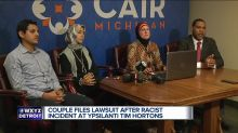 Muslim couple files civil rights complaint after Tim Hortons worker tells them to 'go back to your country'