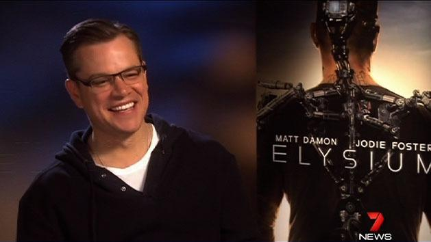 Matt Damon to visit Australia