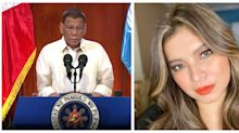 Survey says Duterte and actress Angel Locsin 'most admired' by Filipinos