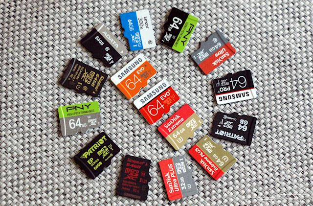 The best microSD card