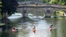 Up the creek … with 19,000 paddles as UK takes to the water