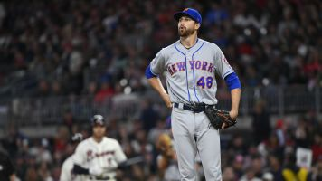 Mets seem to think deGrom's elbow is fine