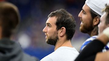 Years of exhaustion in Andrew Luck's football life forced him to carry out a vow