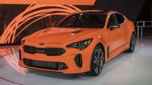 Limited-edition Kia Stinger GTS gets all-wheel drive with a drift mode