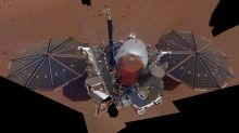 And now for the weather on Mars, courtesy of new NASA lander