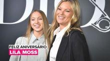 """A """"bebê"""" de Kate Moss completa hoje 18 anos"""