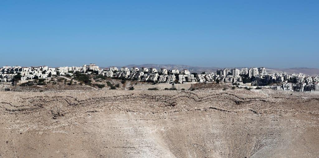 The West Bank Israeli settlement of Maale Adumim