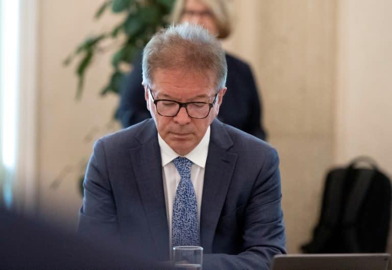 Austria's health minister Rudolf Anschober (AFP Photo/JOE KLAMAR)