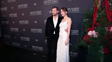 Fifty Shades Freed stars hit the red carpet for Paris premiere