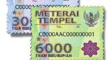 Hingga Oktober, Penerimaan Bea Materai Tembus Rp 4,6 Triliun