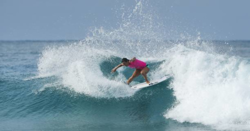 Surf - CT (F) - Gold Coast - Gold Coast : Johanne Defay a sorti Pauline Ado