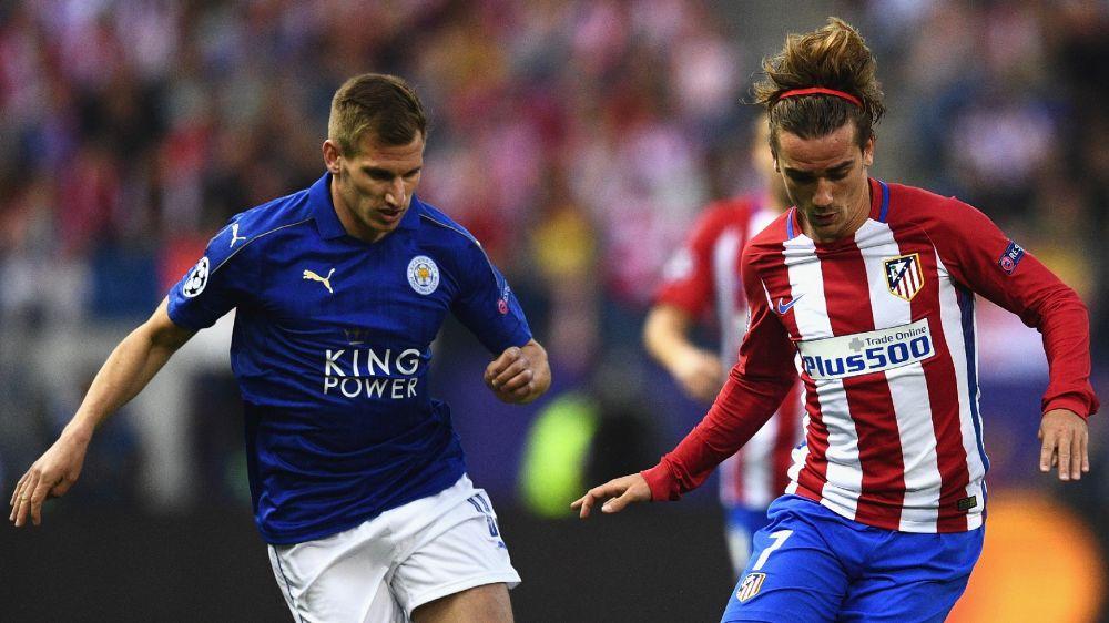 El partido de Griezmann contra el Leicester