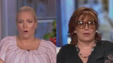 Meghan McCain Snaps at Joy Behar for Being 'Snippy': 'I Don't Have to Come to Work!'