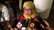Halimah Yacob submits application to stand in Presidential Election