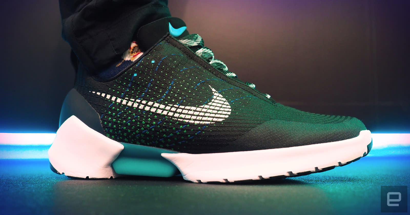self-lacing HyperAdapt sneakers
