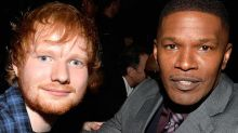 Ed crashed on Jamie Foxx's couch before he was famous