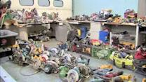 $350,000 worth of stolen tools displayed by police in Philadelphia (PHOTOS)