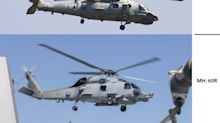China reportedly examined its new maritime helicopter, copy of U.S. Navy's Seahawk