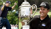 Phil Mickelson's flop wins 2005 PGA Champ