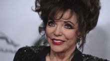 Joan Collins 'delighted' to get COVID vaccine on the same day as the Queen and urges others to get the jab