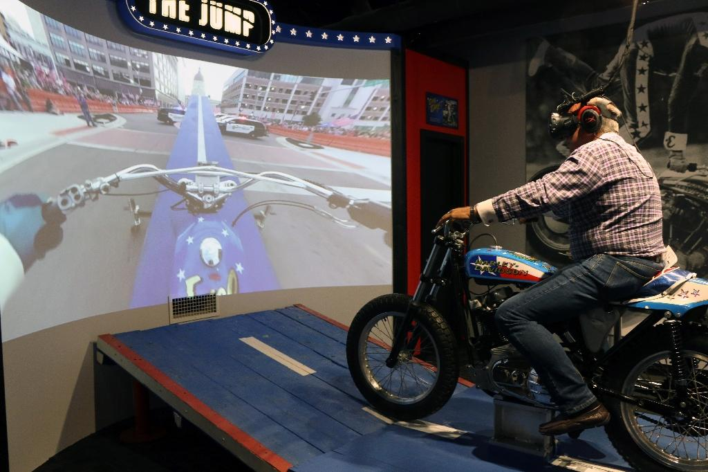Evel Knievel Motorcycle Daredevil Jumper On His Harley: Evel Knievel Museum Celebrates American Daredevil