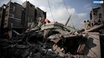 Israel Hits Symbols Of Hamas Power In Gaza War
